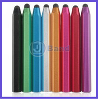 big lot tablet - For iPad Samsung Galaxy Tab Motorola Xoom Tablet Capacitive Touch Screen Big Metal Stylus Pen DHL