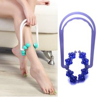 Wholesale Sale PC New Roller Body Legs Relax Massager Foot Calf Slimming Magic Shapely