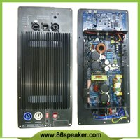 Wholesale 2 way full range Speaker Amplifier Board RMS W Class D Amplifier Plate Built in DSP module with Aluminum Radiator