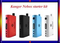 anger control - K anger Nebox Starter Kit battery Temperature Control TC Mod VS Smok tfv4 full kit Istick w full kit subox mini kit