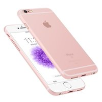 plastic lens - 0 mm Ultra Thin Matte Frosted Clear Soft PP Full Cover Lens Protection Case Skin for iPhone S Plus inch Colors MOQ