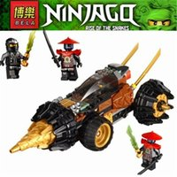 bur - BELA Phantom Ninja Ninjago Cole s Earth Driller Bur Building Bricks Blocks Education Toys Compatible With Legominifigures bricks