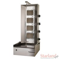 Wholesale Gas Turkey vertical broiler_electric shearman kebab machine stainless steel