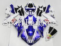 achat en gros de capotage yzf-Carénages d'injection pour Yamaha YZF1000 YZF R1 04 05 06 2004 - 2006 Carénages d'ABS Carénage Carrosserie Cowling 46 Bleu