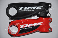 Wholesale 2015 new style TIME Bicycle stem package carbon fiber stem mtb road stem mm riser stem white red