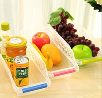 egg container - 10pcs Hollowed out Drawer Type Plastic Refirgerator Storage Box for Drinks Eggs Useful Icebox Fridge Container