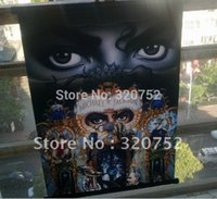 banner media - 5pcs Rare Rare Michael Jackson Dangerous Wall picture Flag Banner x22inch