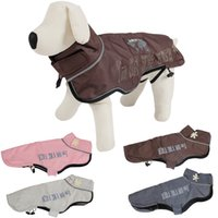 dog wedding dress - New Arrival Dog Jacket Coat Canvas Material Windproof Pet Clothes Winter Clothing Puppy Cat Apparel Costumes Snowsuit Large Dog