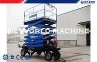 Wholesale China manufact quality products Goouring quality products Good Performance hydraulic vertical Scissor lift car m Self Propelled good