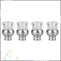 balls electronics - Stainless Steel Glass Ball Drip Tip for Electronic Cigarette Tank Atomizer Mouthpieces Wide Bore Drip Tip Newest Drip tips DHL Free