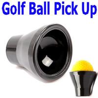 Wholesale 2PCS Black Golf Ball Putter Sucker Finger Ball Retriever Pick up Set