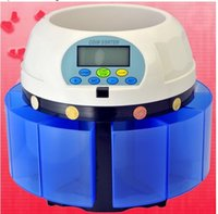 Wholesale 2 sets Custom made High speed Electronic coin counter coin sorter coin counting machine for most of countries