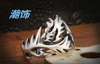 fashion jewelry usa - 2015 Fashion Jewelry Stainless Steel Solid Inside Dragon Rings Men High Quality USA UK Russian Brazil JZ2