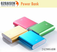 Wholesale XiaoMi power bank mAh external battery portable charger backup power MI band For outdoor phones tablet PC