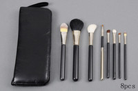 Wholesale Brush Set Practical Brush Piece Brush Set With Leather Pouch