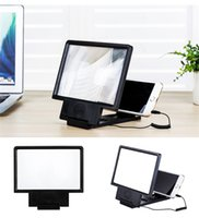 adjustable speaker stands - Angle Adjustable Eyeshield D Enlarged Screen Video Frequency Display Amplifier Magnifying with Speaker Folding Holder Stand Free DHL