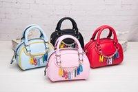 clothing chain - NEW Designer Handbags clutch bag High Quality Leather Shell Rainbow chain bag Women designer clothes Shoulder Messenger Bag Clutch Purse bag