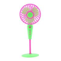 Wholesale New Plastic Floor Tower Fan For Doll s House Doll house Furniture for Dolls Dolls Home Garden