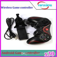Wholesale Wireless Game Controller Fully Functional Joystick Bluetooth ABS Plastic Material for PC Tablet Android Phone Smart TV ZY PS3