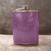 Wholesale oz Stainless steel flagon carry man portable