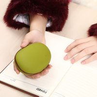 Wholesale New Arrival Magic Bean Appearance Portable Rechargeable Mini USB Hand Warmer With Power Bank Mah Adjustable Heating CE ROHS Approved