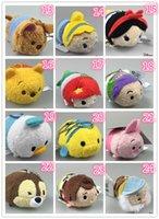 achat en gros de tsum minion-De haute qualité 9cm Monsters tsum tsum peluche enfants jouets enfant petit cadeau mignon porte-clés Accessoires mini stuff toy minions jouets