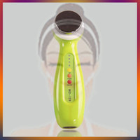 Wholesale Green Color Mhz Ultrasonic Ultrasound Body Slimming Skin Lifting Skin Rejuvenation Anti aging Wrinkle Removal Face Massage Machine