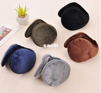 Wholesale New Arrive Color warm plush cloth Ear Muffs Winter Ear warmers Mens or Womens Fleece Warmer Earmuff