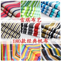 acrylic sofa table - Handmade diy canvas fabric rainbow colored stripe thickening cotton canvas sofa fabric table cloth
