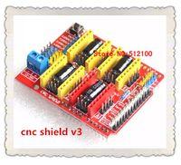 Cheap Free shipping! 2PCS LOT New cnc shield v3 engraving machine   3D Printer   A4988 driver expansion board