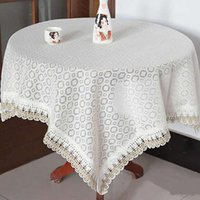Wholesale 1Pc Multifunctional Cover Towel Dining Table Cloth Fabric Tablecloth cm