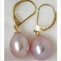 akoya loose pearls - 2016 new HUGE X11MM AKOYA LAVENDER LOOSE PEARL EARRING K YG