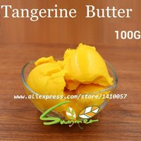 Cheap Wholesale-100G Tangerine Butter Pure Essential Oil   Tangerine Butter 100g Base Oil Lip Materials Hot Sale 2015 Skin Care Products