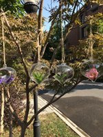 Wholesale 4PCS Hanging Terrarium Kit glass ball vase for home decoration garden ornament