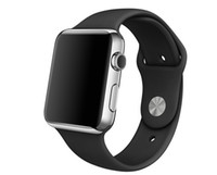 Wholesale New WatchBand For Apple Watch Strap Split Silicone Wrist Band Strap For apple watch mm mm with Adapter Connector