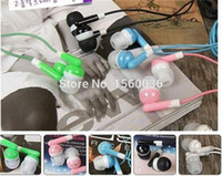 Wholesale mm In ear headphones earphone earbud headset headphone for PC Laptop MP3 MP4