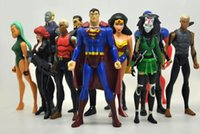 aqualad young justice - Superheros DC Universe YOUNG JUSTICE SuperMan Robin Wonder woman Micron AQUALAD Action Figures set