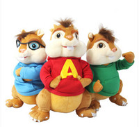 alvin theodore chipmunks - alvin and the chipmunks plush soft doll Alvin Theodore Simon brittany eleanor models stuffed plush