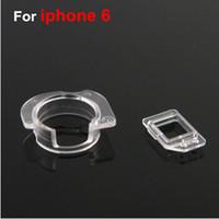 flex caps - 2 pair front camera ring holder and proximity light sensor Plastic Holder Clip Cap Seal bracket For iPhone plus G i6 flex