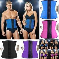 fitness wear training wear - 2015 Latex corset Women s Hot Latex Rubber Underust Bustier Waist Cincher Training Corsets Body Shapers Wear For Fitness