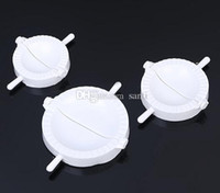 Wholesale New Arrive Press Ravioli Dough Pastry Pie Dumpling Maker Gyoza Empanada Mold Mould Tool Size Easy Eco Friendly Dumpling Mould