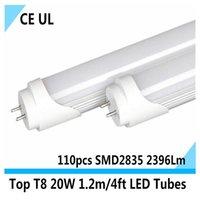 Wholesale 4 feet T8 W led tubes BUL1200mm M cm AC V V cool white Lm UL CE pse warranty years