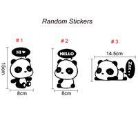 Wholesale Creative DIY Bedroom Wall Stickers Children Cartoon Cute Panda Sticker Nursery Wall Stickers Switch Stickers Styles Online