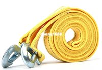 Wholesale Car Tow Cable Towing Rope Strap With Hook Emergency Heavy Duty Tons M For Honda civic city fit jazz