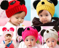 baby hats manufacturer - Manufacturers supply baby children hat han edition panda hat baby hat
