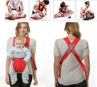 baby gear backpack - 2 Months Baby Sling Carrier Mesh Multifunction Breathable Confortable Backpack Wrap Rider Baby Gear Product Children Suspenders Free DHL