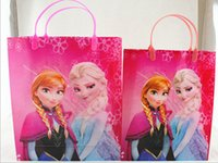 halloween bag - Frozen Halloween Trick or Treat Bags Toys Games PVC toys for children pouch gift bags