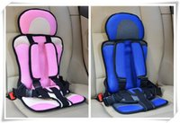 Wholesale Car Baby Safety Seat Child Seats Baby Car Safety Seat Multifunction Auto Harness Kiddy Car Seat KG Coffee Red and Pink