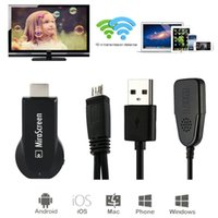 Wholesale MiraScreen OTA TV Stick Dongle Better Than EZCAST EasyCast Wi Fi Display Receiver DLNA Airplay Miracast Airmirroring Chromecast