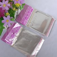 Wholesale New arrival OPP plastic bags mm transparent color for packing products to keep them more beautiful and fine